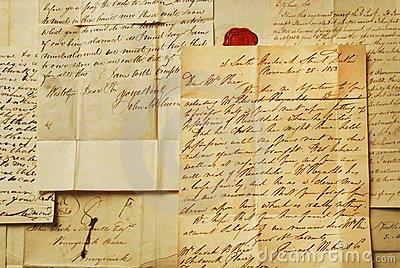 old-letters-elegant-handwriting